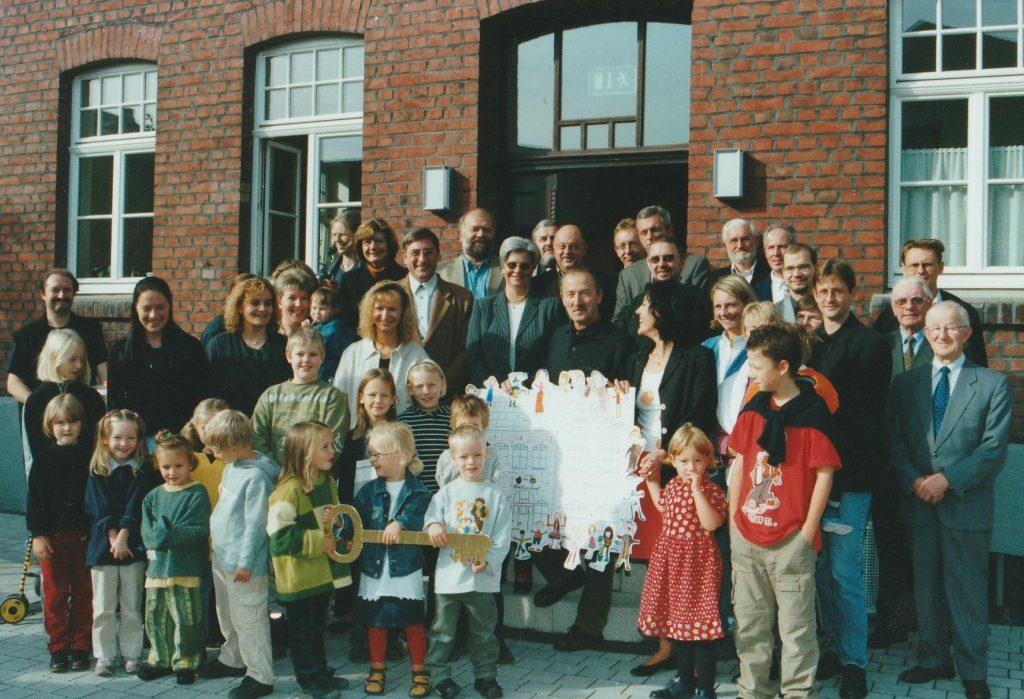 Die Kita Abenteuerland zieht 2000 in den alten Kindegarten in der Friedrichstraße.